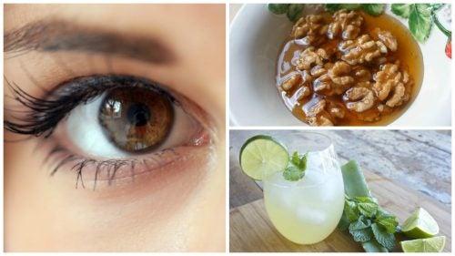 Mejora tu salud visual con este remedio natural de aloe vera