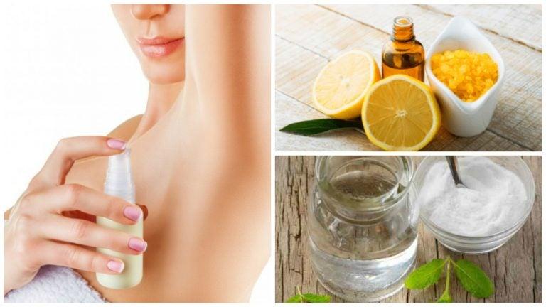 4 desodorantes naturales para deshacerse del mal olor de las axilas