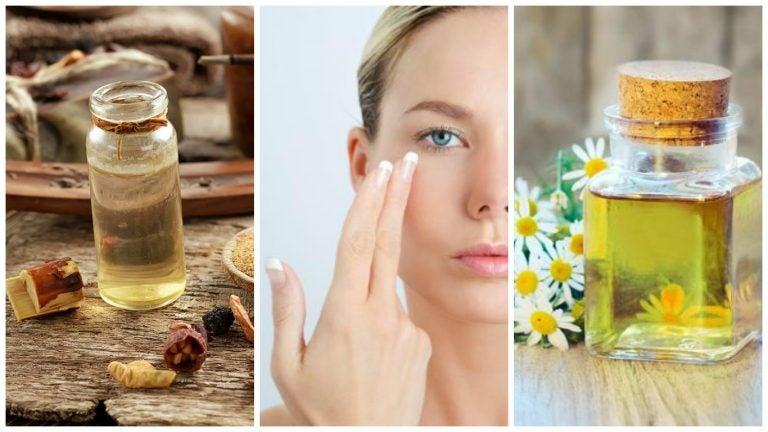 Reduce las arrugas finas del contorno de los ojos con estos 6 aceites esenciales