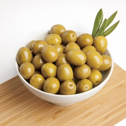 Las aceitunas contienen grasas saludables.