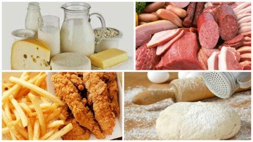 8 alimentos que debes evitar si sufres de inflamación