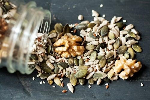 Come semillas para estar más sano