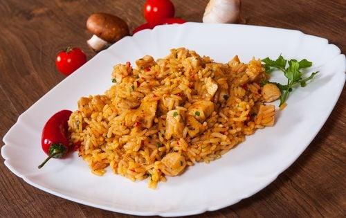 Pollo tandoori - dieta hindú.