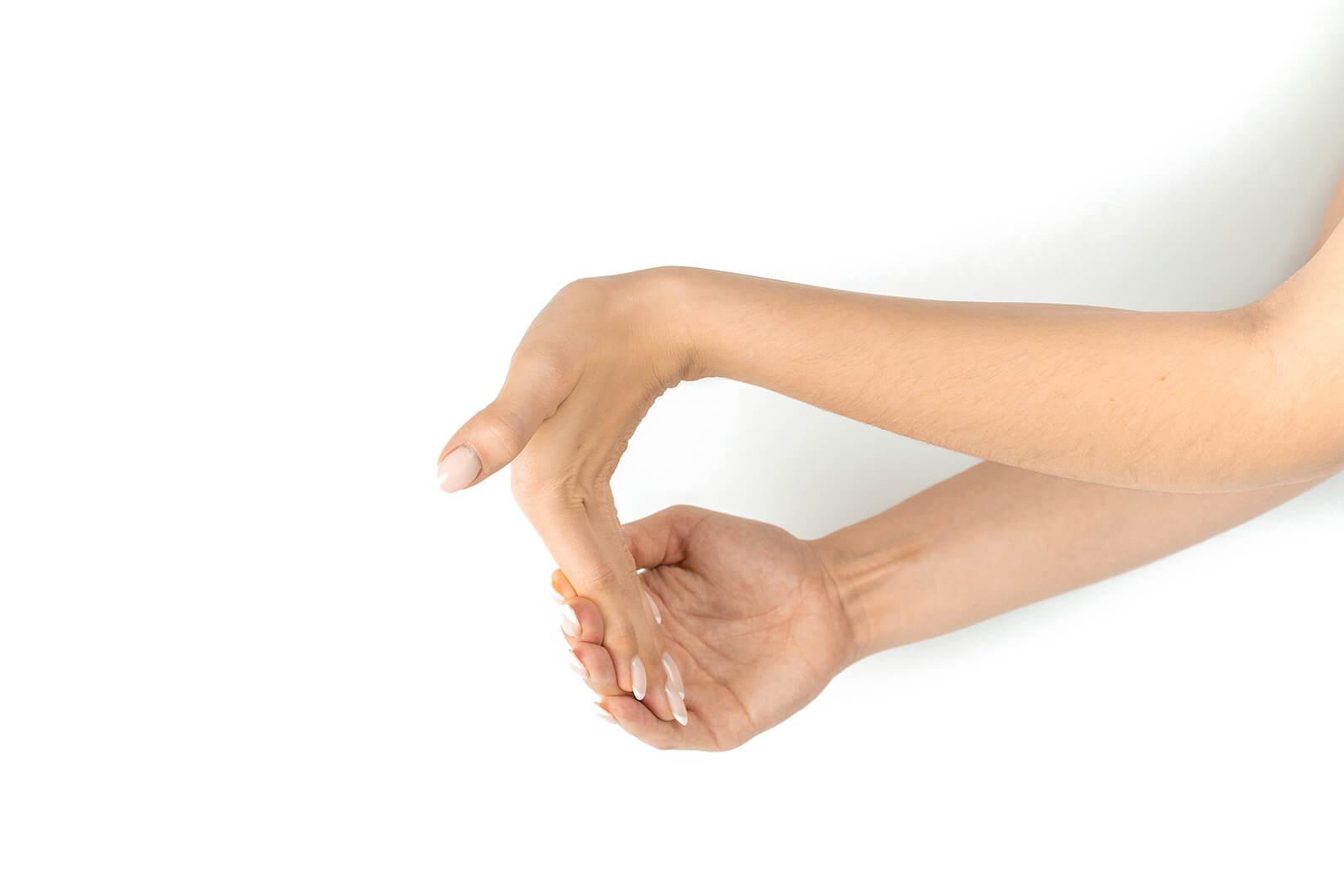 Ejercicios para las manos que sirven como estiramientos.