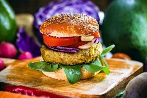 La hamburguesa sin carne, ecológica y saludable