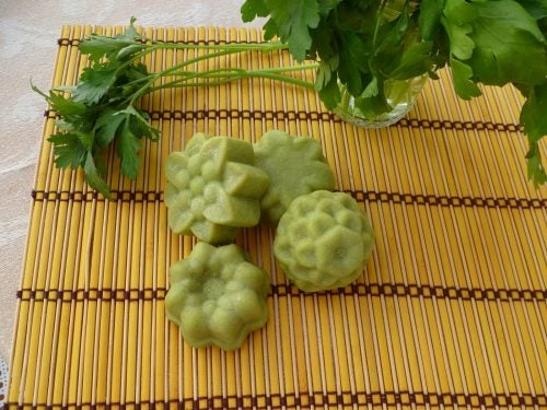Some parsley soap.