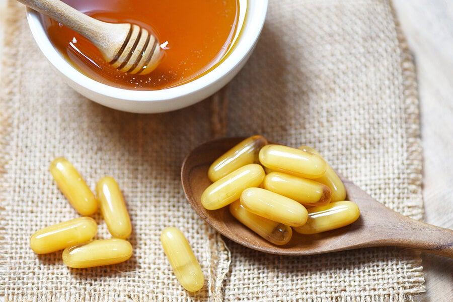 Jalea real y miel de abejas