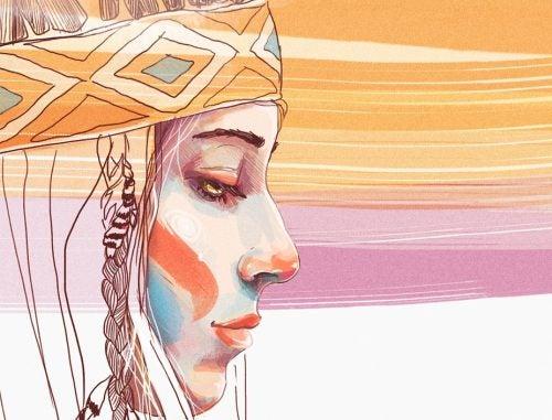 mujer-indígena