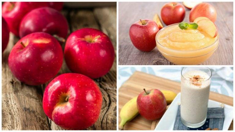 5 remedios caseros que puedes preparar a base de manzana