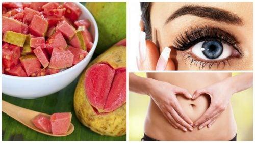 10 interesantes beneficios que obtienes por incluir guayabas en tu dieta