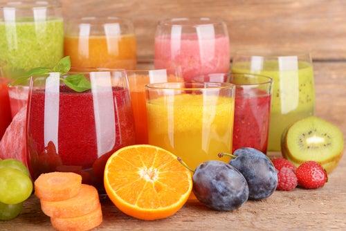 9 jugos naturales y caseros para 9 dolencias habituales
