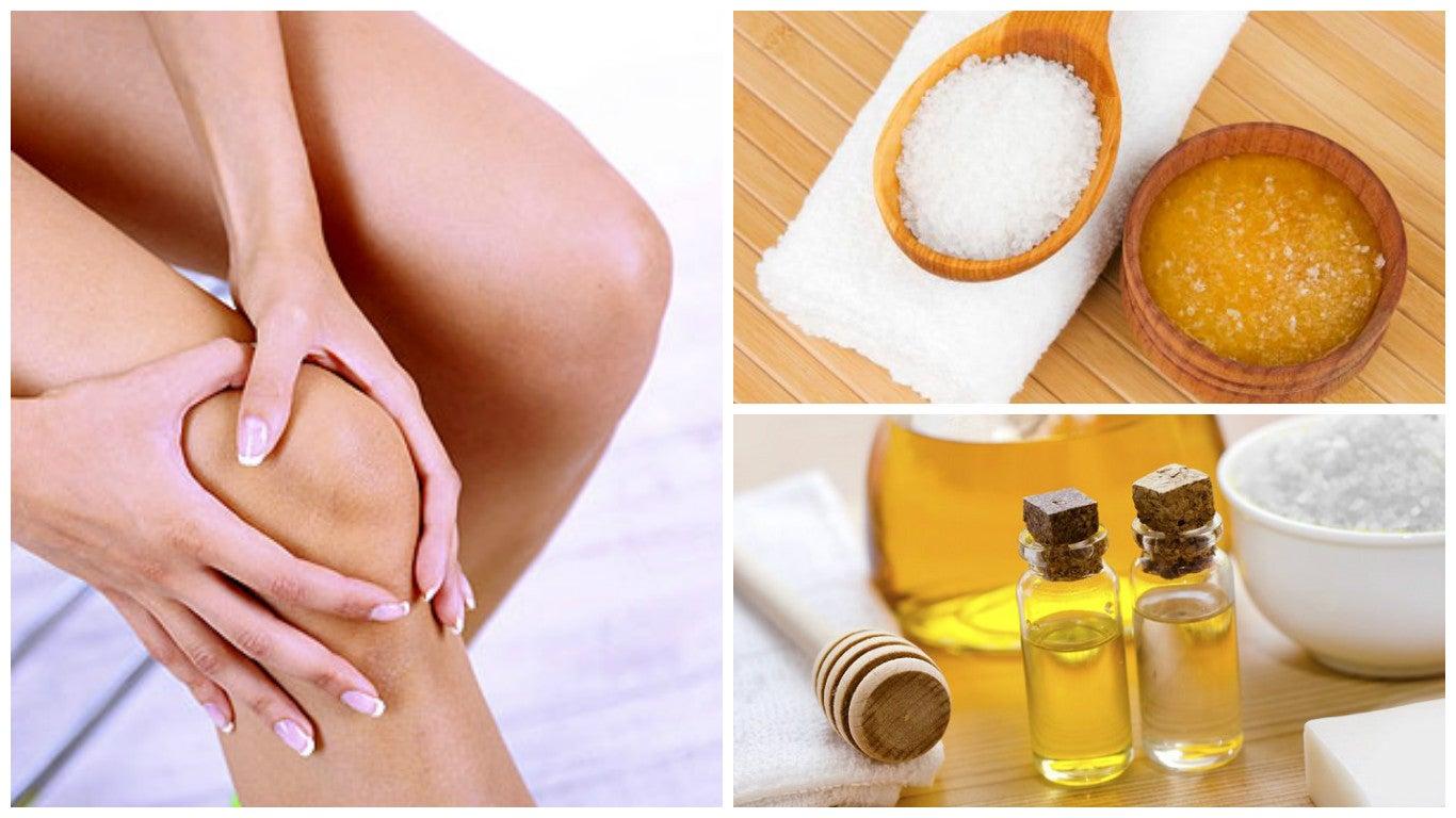 Blanquea la piel de tus rodillas con estos 5 remedios naturales