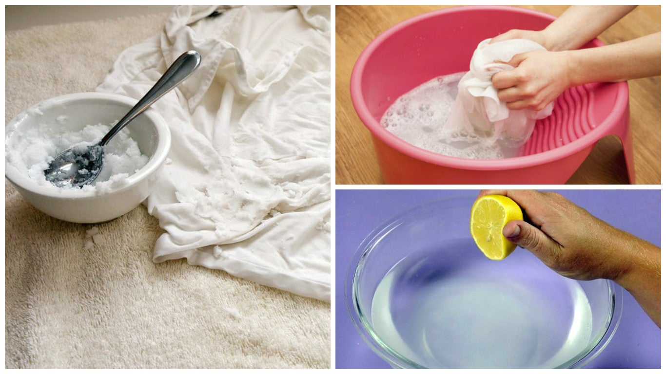 Blanquea tus prendas favoritas con estos 5 tips de lavado