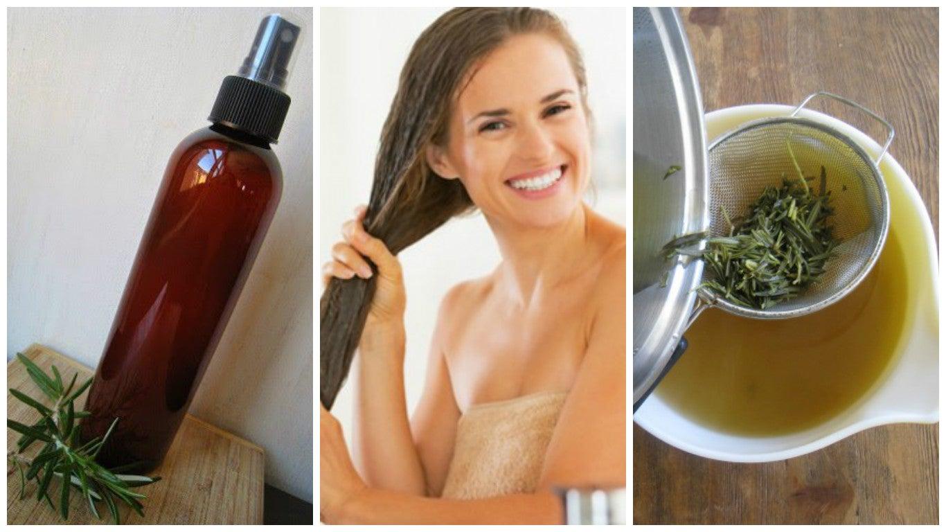 Cómo preparar un acondicionador herbal con vinagre para fortalecer el cabello