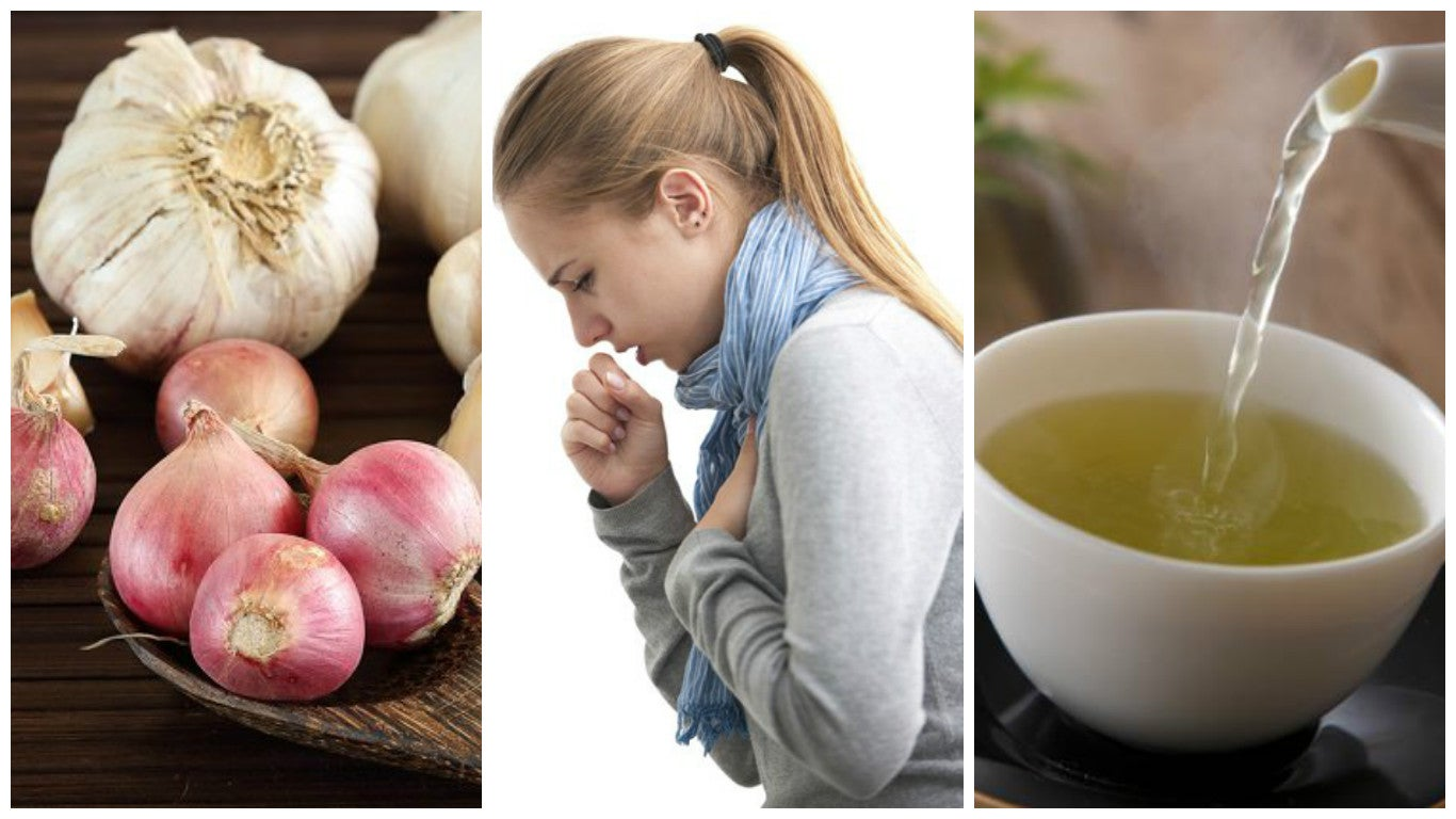 Combatir la tos con esta bebida natural de cebolla y ajo