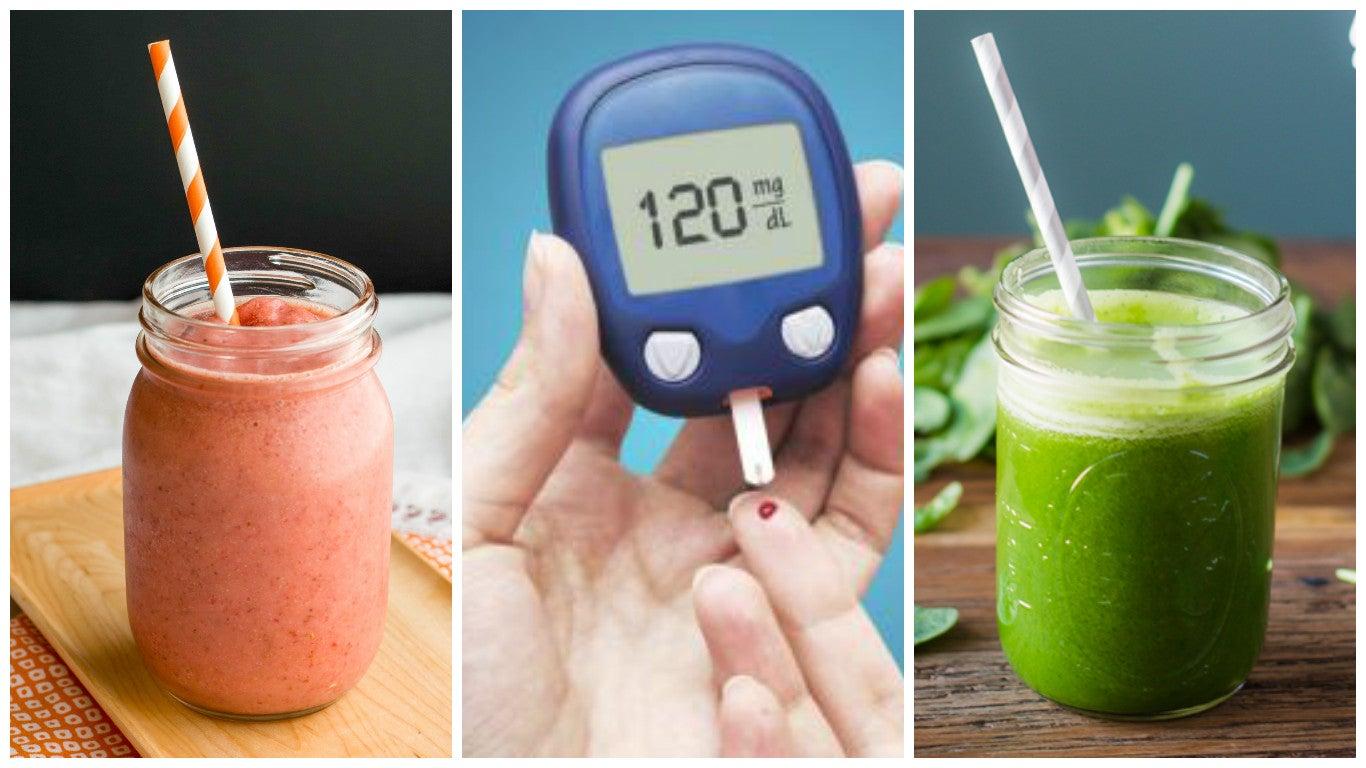 Controla los niveles altos de azúcar en la sangre con estos 5 licuados caseros
