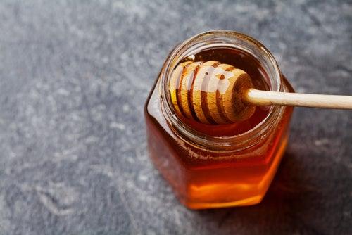 Exfoliante de azúcar y miel
