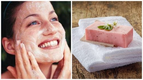 Mejora el aspecto de tu piel con este jabón natural de aloe vera y rosa mosqueta.