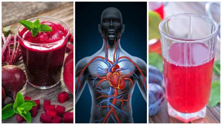 Mejora la circulación sanguínea con estas 5 bebidas
