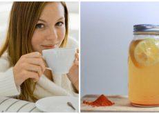 Mejora la salud de tu cuerpo con cúrcuma y agua con limón