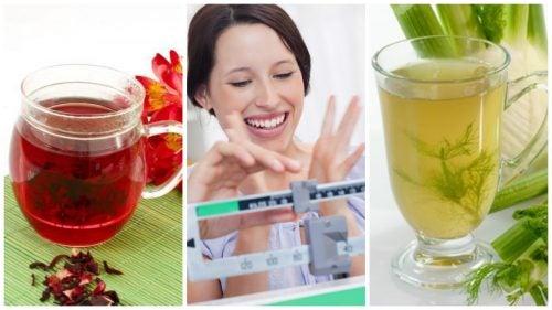 Pierde peso con más facilidad consumiendo estas 6 infusiones naturales