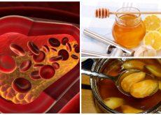 Reduce tus niveles de colesterol con este antiguo remedio de miel, ajo y limón