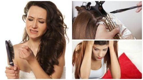 Posibles causas de la caída excesiva de cabello
