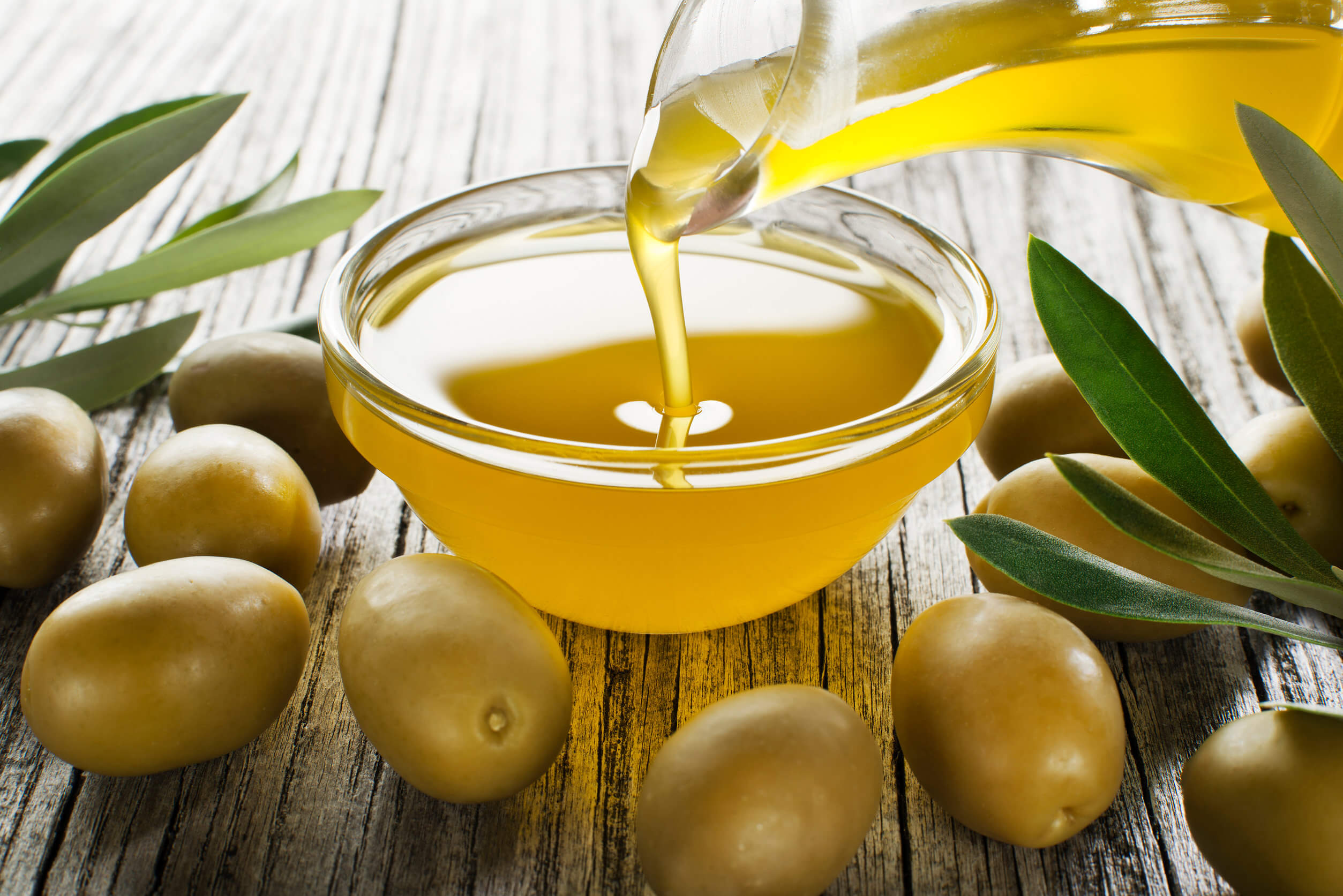 Sustituye la mantequilla por aceite de oliva