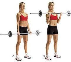 Entrenamiento de biceps y triceps para mujeres