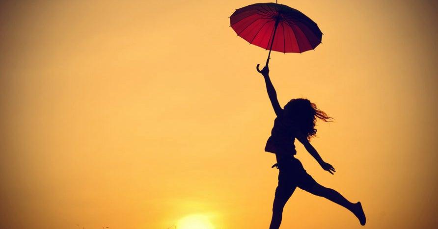 Elige ser feliz para fortalecer tu corazón.