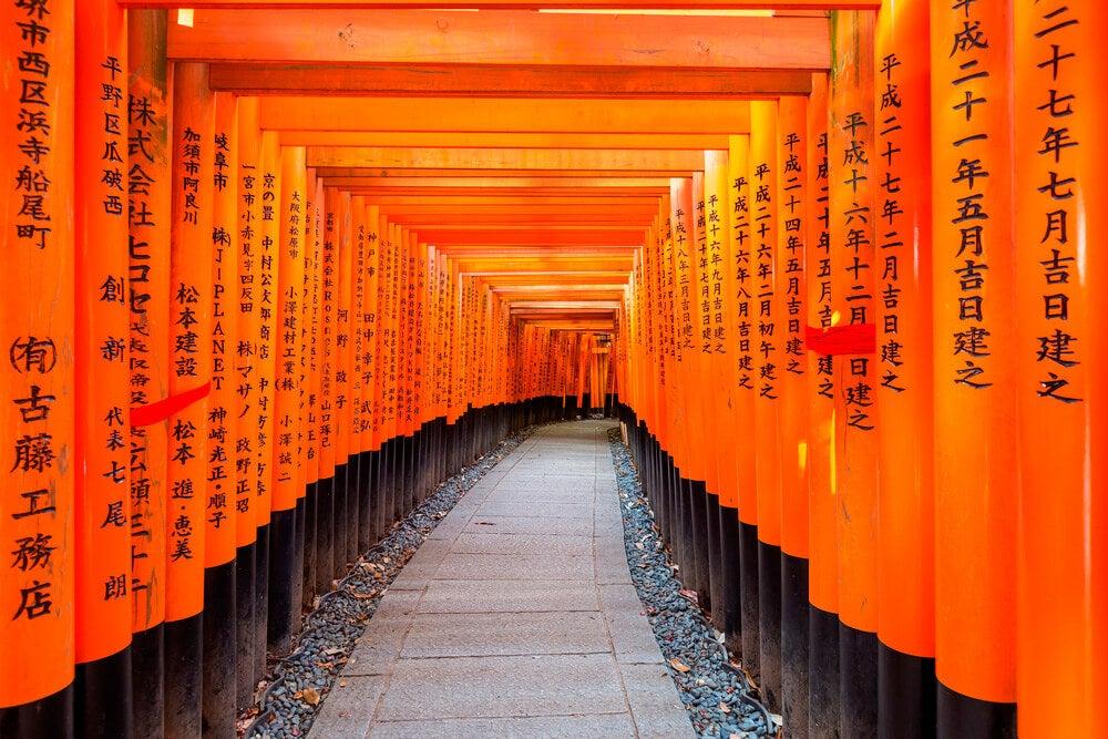 Templo que representa la sabiduría de Japón