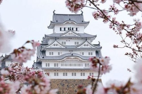 Templo representando la sabiduría de Japón