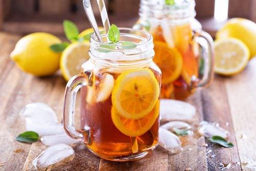 té con limón mejores infusiones