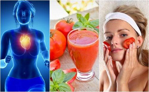 6 maravillosos beneficios que obtienes al consumir jugo de tomate