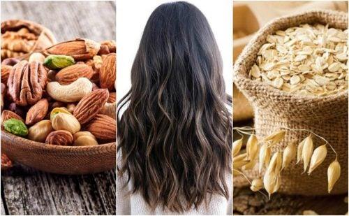 8 alimentos que debes comer si quieres un cabello fuerte y abundante