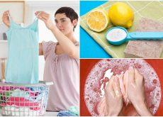 9  curiosas formas de eliminar manchas de la ropa si no tienes un producto especializado
