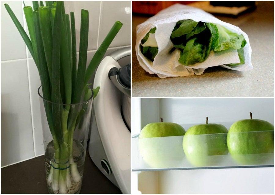 9 trucos que te ayudarán a mantener tus alimentos frescos por más tiempo