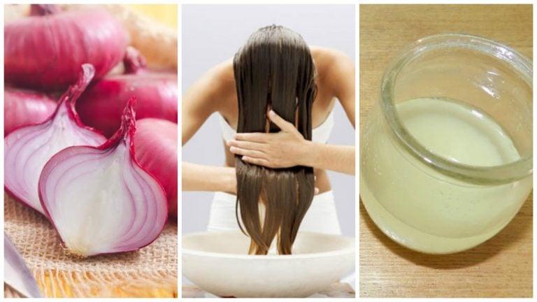 Cómo combatir la caída del cabello con remedios a base de cebolla