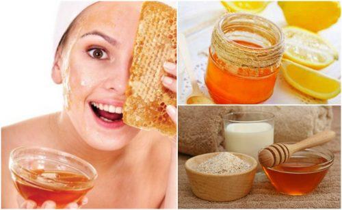 Cómo reducir el aspecto de las arrugas con 5 mascarillas con miel de abejas