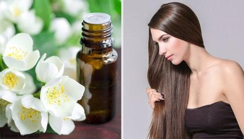 Jabon de glicerina para el pelo graso