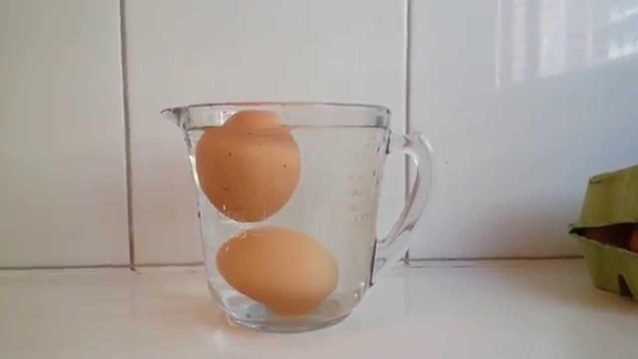 comprobar huevos están en mal estado