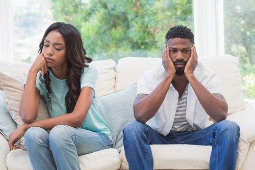 Insatisfacción en una relación