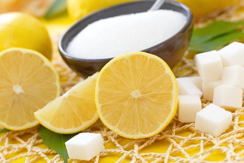 Lemon and sugar to lighten dark underarms