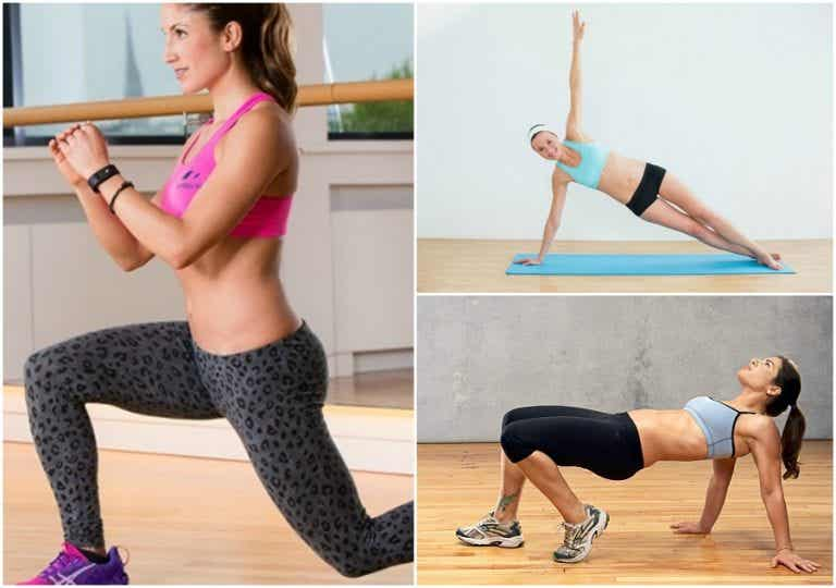 Mantén tu cuerpo en forma con esta rutina de 5 ejercicios para practicar en casa