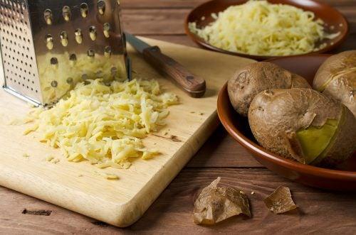 Mascarilla de patata