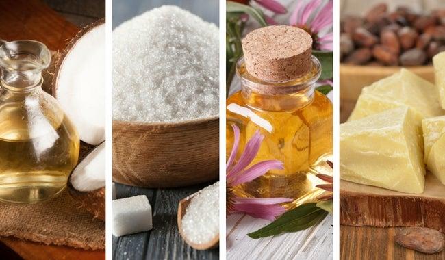Prepara un aceite sólido para hidratarte mientras te duchas