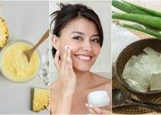 Reafirma la piel de tu rostro con estos 5 tratamientos naturales
