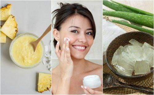 Reafirma la piel del rostro con estos 5 tratamientos naturales
