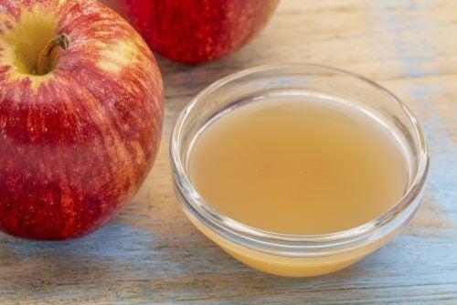 Sirve el vinagre de manzana para bajar de peso