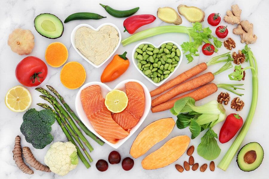 Alimentación para cuidar el corazón.